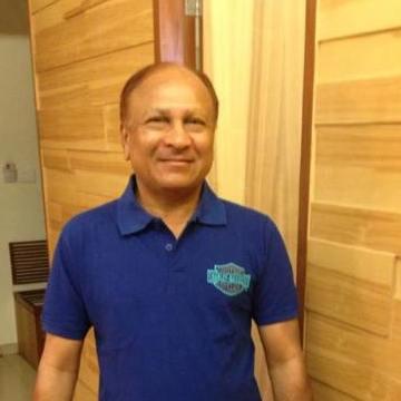 Pankaj Domadia, 57, Mumbai, India