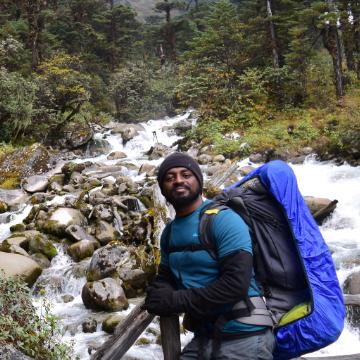 Pradeep Roy, 28, Bangalore, India