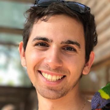 Nesim Gönceer, 30, Tel Aviv, Israel
