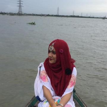 Khosnur Habiba Falguni, 23, Dhaka, Bangladesh