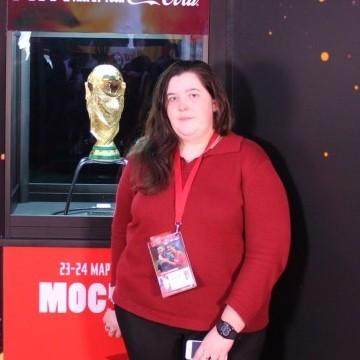 Anastasia Tamoshina, 26, Moscow, Russian Federation