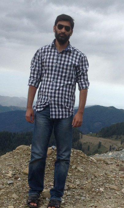 Yaawar Yousufzai, 35, Srinagar, India