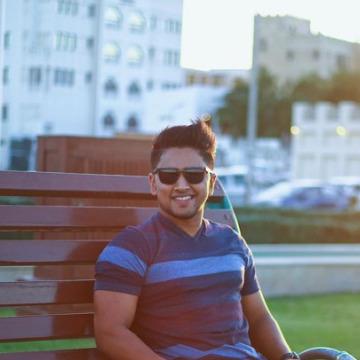 Arjun Remasan, 27, Doha, Qatar