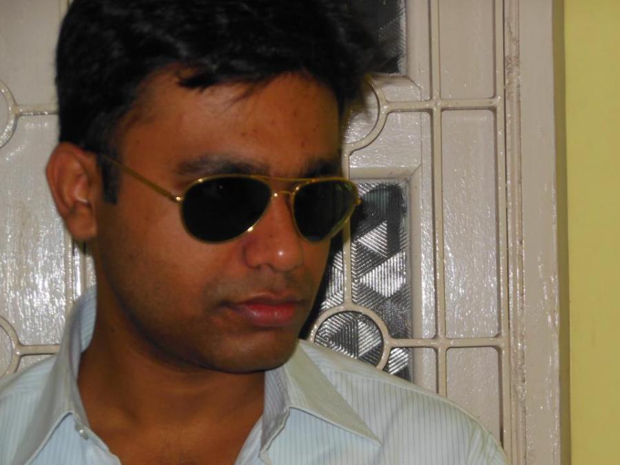 Dipanjan Chowdhury, 36, Calcutta, India