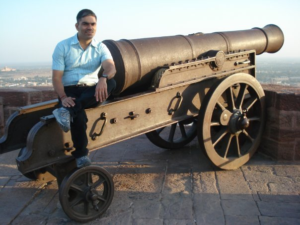 Ajay Dubey, 41, New Delhi, India