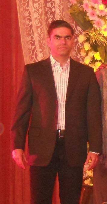 Ajay Dubey, 40, New Delhi, India