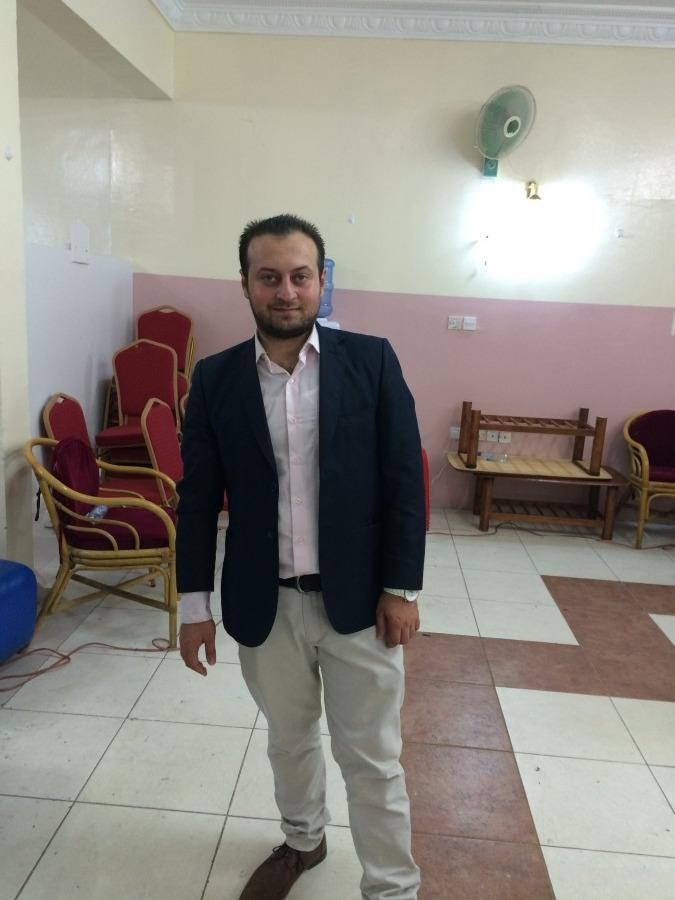 Waleed Alomari, 32, Abu Dhabi, United Arab Emirates