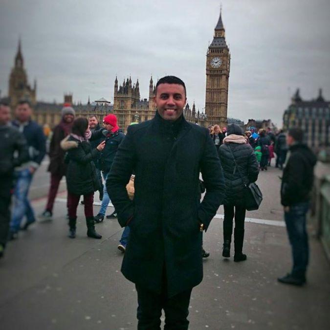 Sameh Mahmoud, 41, Dubai, United Arab Emirates