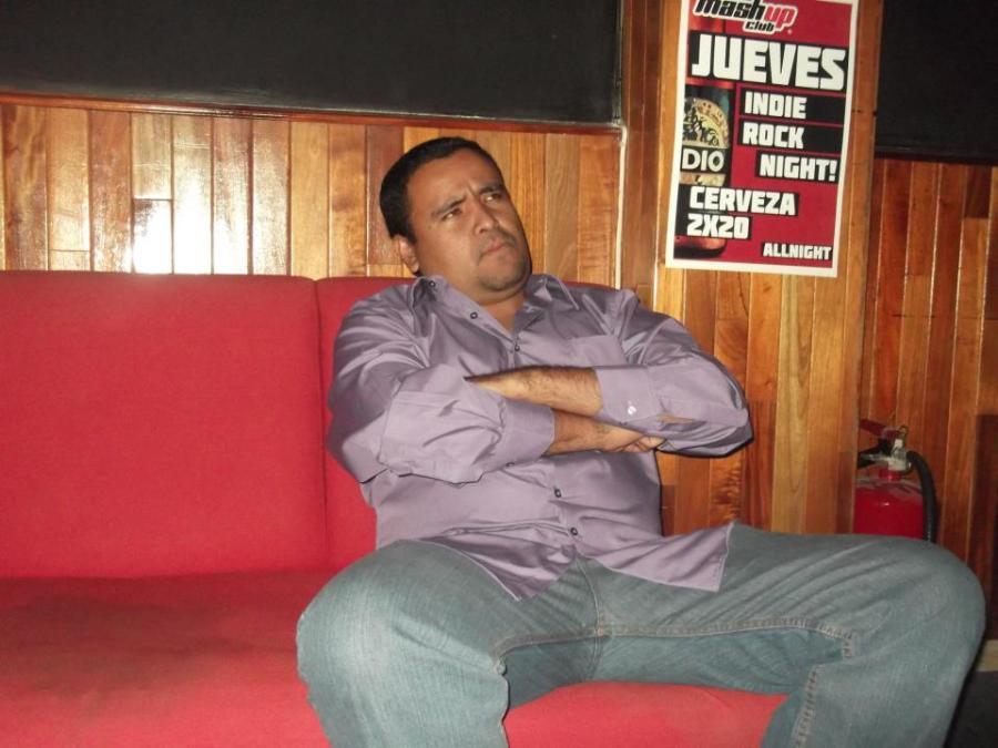 Alejandro Esparza, 35, Aguascalientes, Mexico