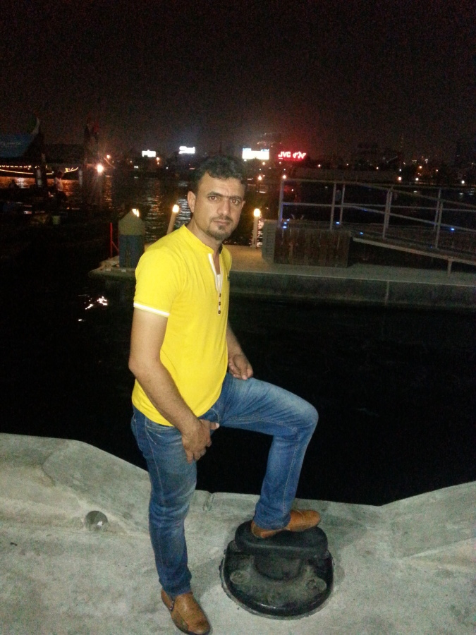 Rafed L'amore, 35, Dubai, United Arab Emirates