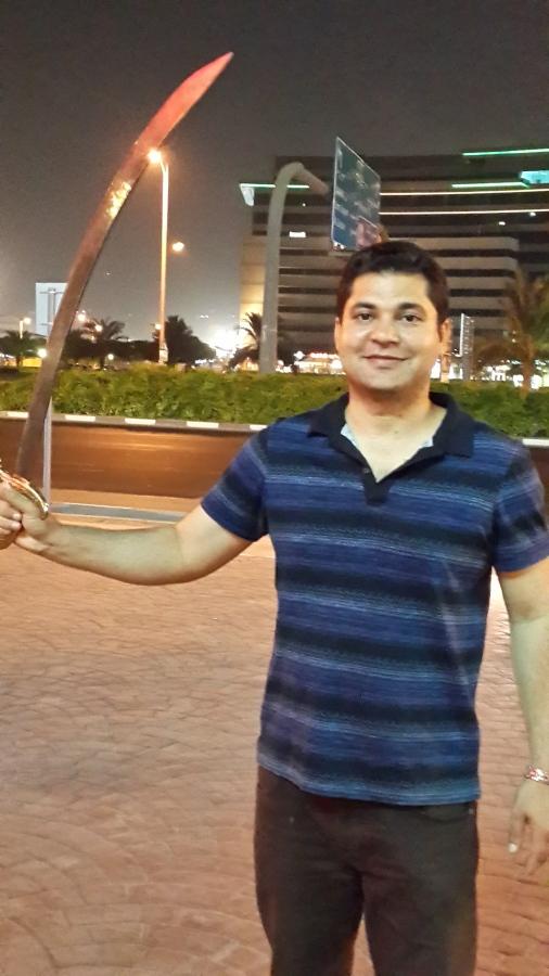 Shafqat Rasool, 36, Dubai, United Arab Emirates