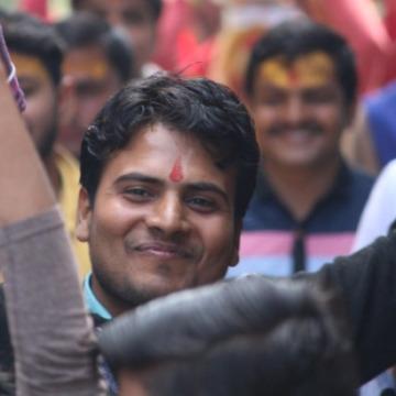 Sushil Upadhyay, 22, Mathura, India