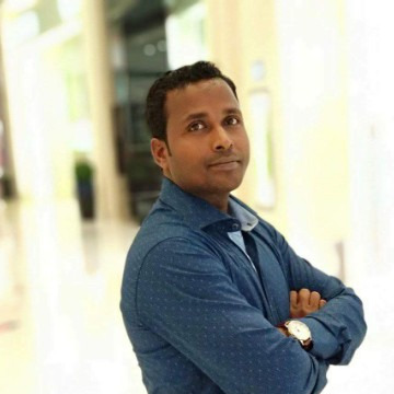 Krishna das, 35, Sharjah, United Arab Emirates