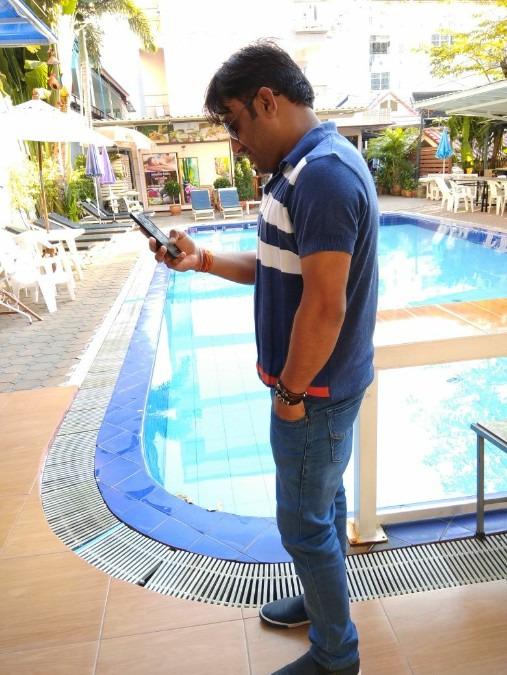 Arun Kumar, 33, New Delhi, India