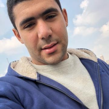 Mahmoud Mamdouh, 24, Cairo, Egypt