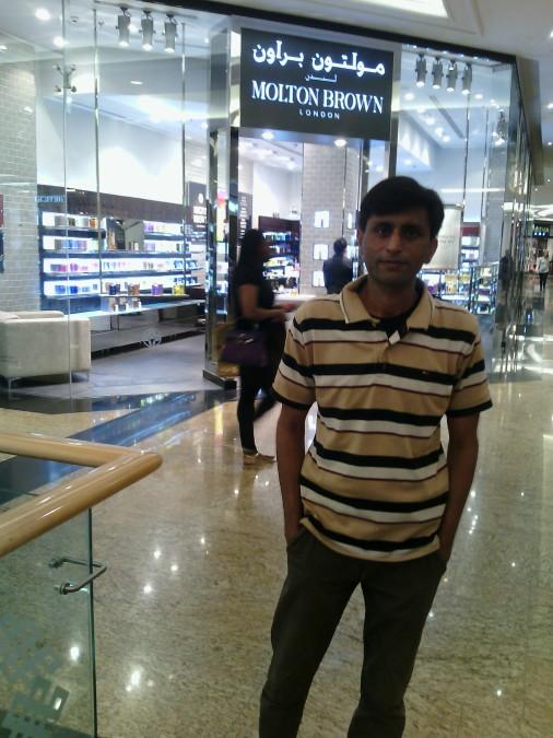 Faroukh Ali, 34, Dubai, United Arab Emirates