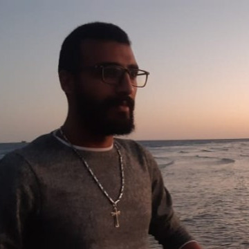 Abanoub Wahed, 28, Hurghada, Egypt