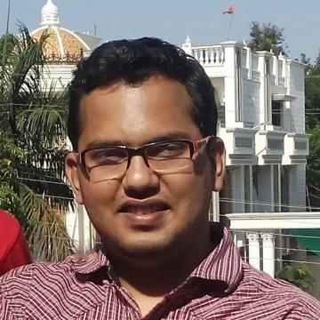 Arpit Sharma, 27, Hyderabad, India