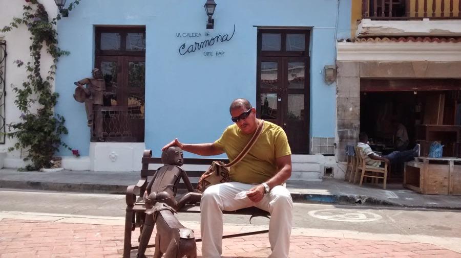 miguel castillo, 63, Cartagena, Colombia