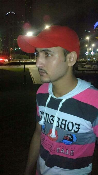 Sardar Mudsair Naz, 25, Abu Dhabi, United Arab Emirates