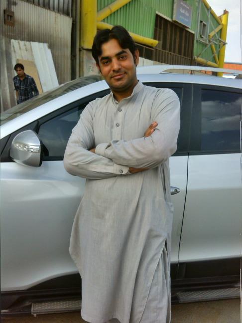 Munawar Hussain, 31, Riyadh, Iraq