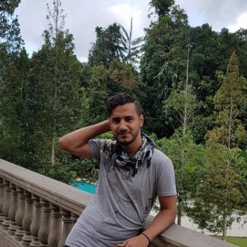 Hosam Ali Sam, 18, Sana'a, Yemen