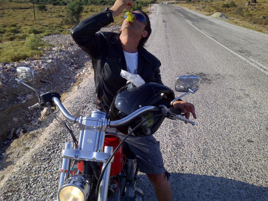 Tuncay Özcan, 39, Bozcaada, Turkey