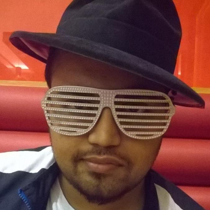 Shejo Varghese, 34, Sharjah, United Arab Emirates