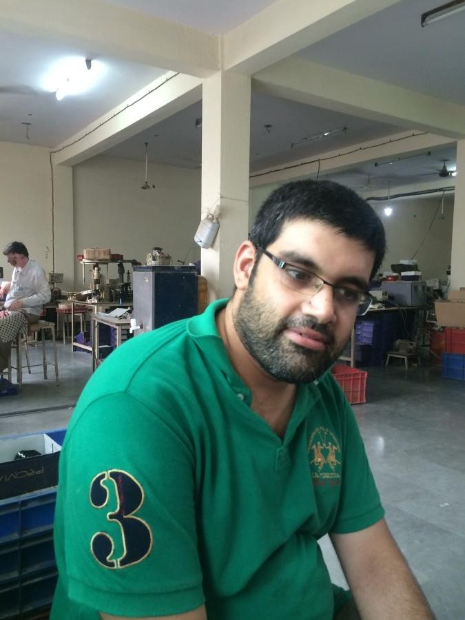 Shravan Kapur, 31, New Delhi, India
