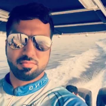 Abdulla Ahmed, 32, Dubai, United Arab Emirates