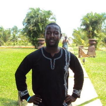 usman, 33, Accra, Ghana
