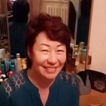 Салтанат Айдарбекова, 55, Bishkek, Kyrgyzstan
