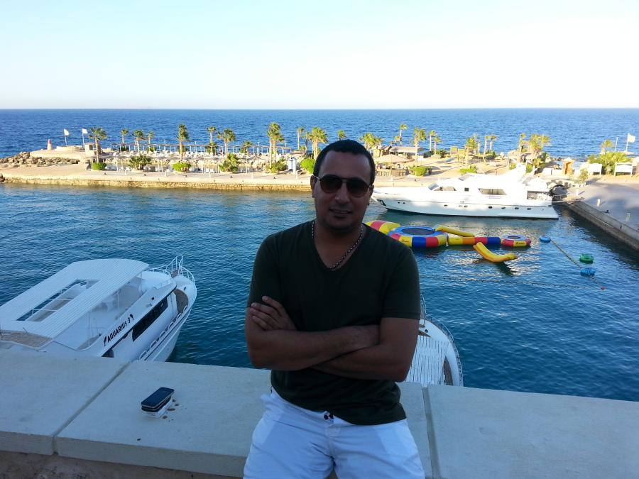 Hany Samir Lwindy, 39, Cairo, Egypt