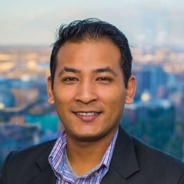 Niraj Shrestha, 31, Boston, United States