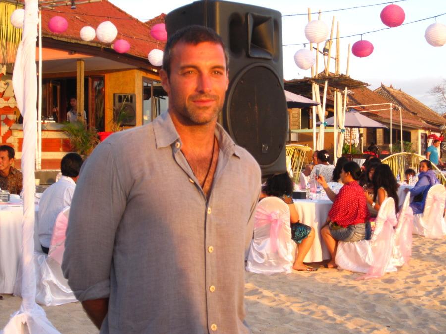 Jordi Jules, 40, Barcelona, Spain