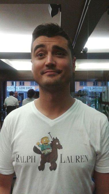 Demian Garciía, 37, A Coruna, Spain