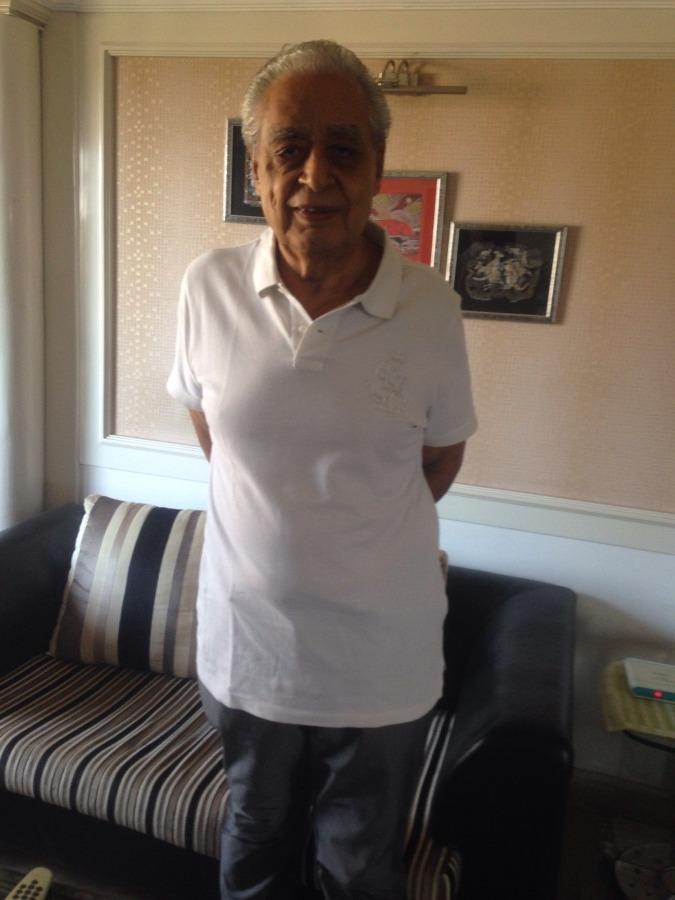 Gulshan Kumar, 80, Mumbai, India