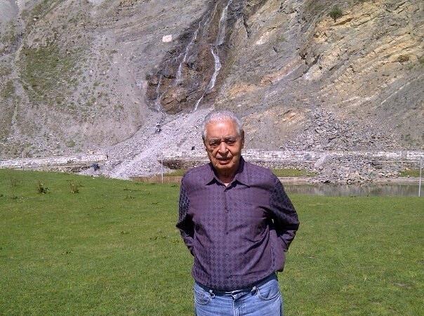 Gulshan Kumar, 82, Mumbai, India