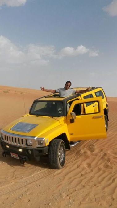Rahul Kumar, 40, Abu Dhabi, United Arab Emirates