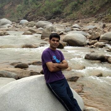 Gaurav Panwar, 37, New Delhi, India