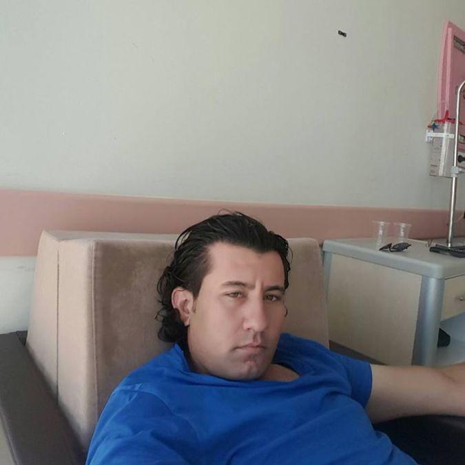 Şamil Küçükler, 35, Adiyaman, Turkey