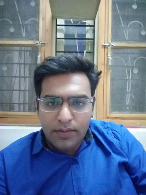 PRashant Gandhi, 32, Ahmedabad, India