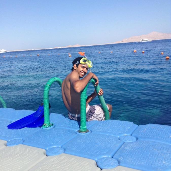 Khaled Mohamed, 27, Sharm El-sheikh, Egypt