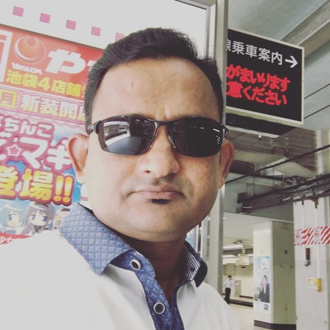 Mr. Mizan, 39, Tokyo, Japan
