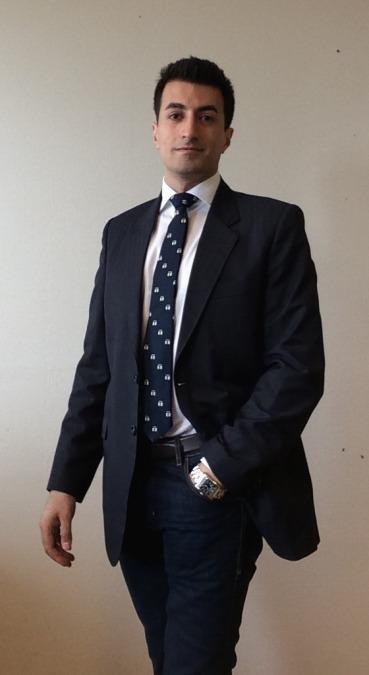 David Reza, 35, Stockholm, Sweden