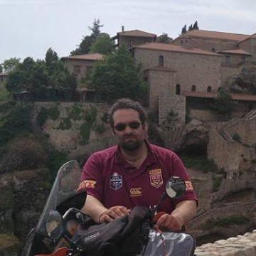 Makis Papadatos, 43, Argostolion, Greece