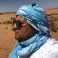 Owner and manager of Royal Camp Merzouga, 39,