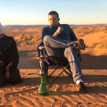Owner and manager of Royal Camp Merzouga, 40,