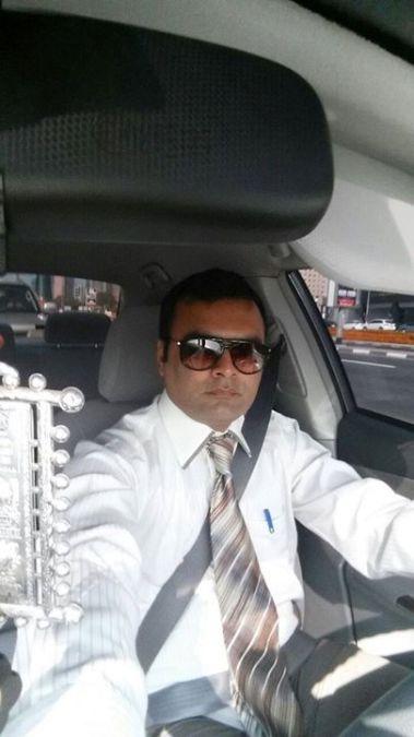Mohammad Azad, 40, Dubai, United Arab Emirates