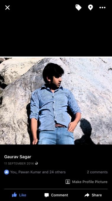 Gaurav sagar, 29, Navi Mumbai, India